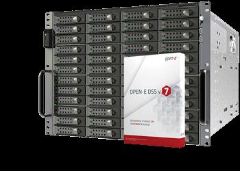 rapidNAS® ESO – Enterprise NAS Open-E DSSV7